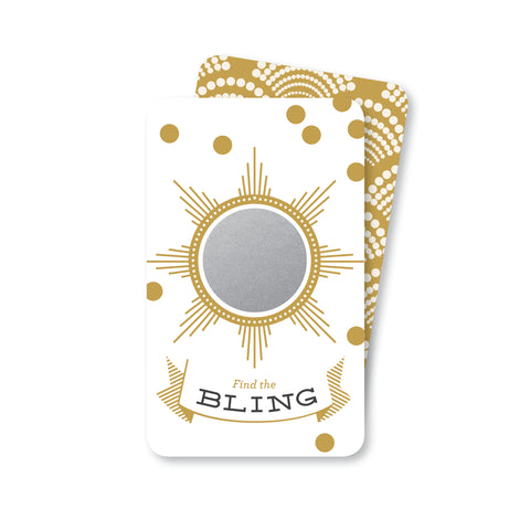 Find the Bling Gold Foil Scratch-off Game