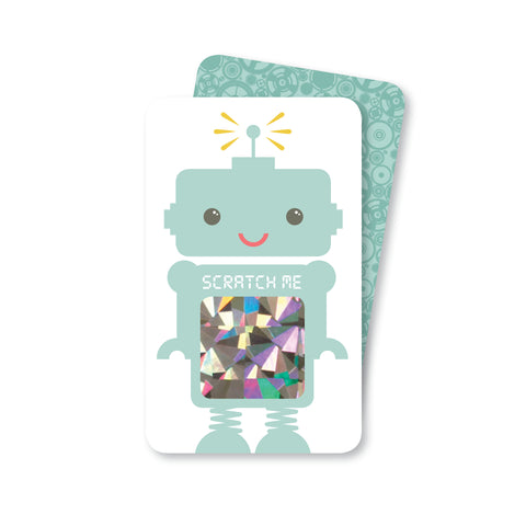 Mint Robot Scratch-off Game