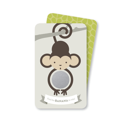 Monkey Scratch-off Game