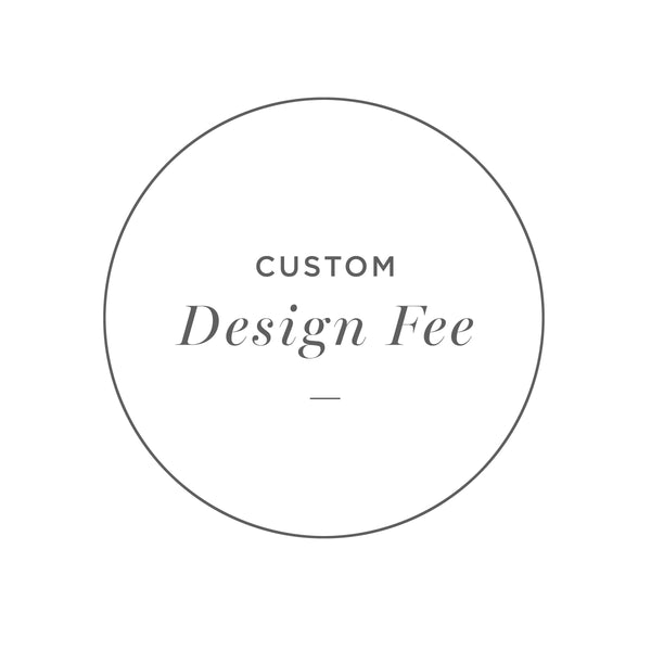 Custom Design Fee - Customer Cards