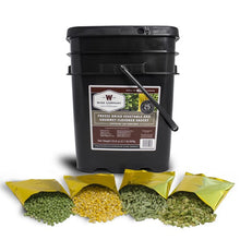 Emergency Freeze Dried Vegetables - 120 Servings