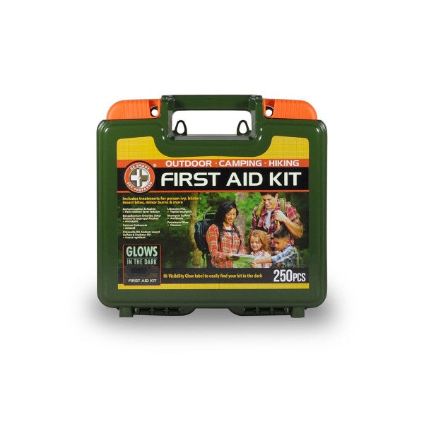 250 Piece Outdoor First Aid Kit