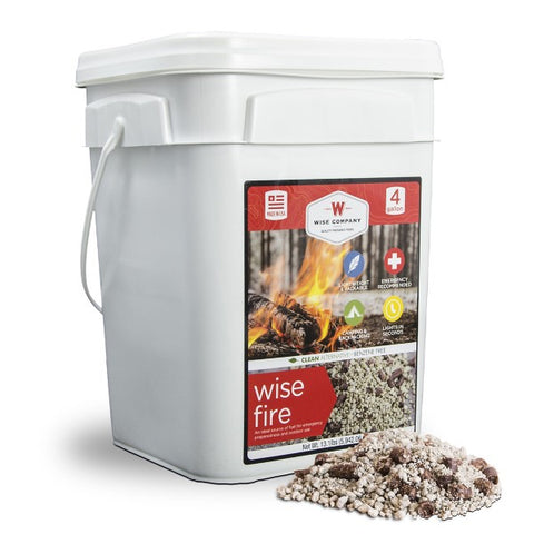 4 Gallon Bucket - Wise Fire