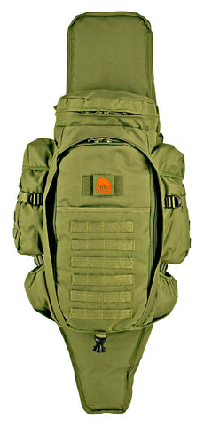 Lost Woods - Full Gear Rifle Backpack - Olive Green