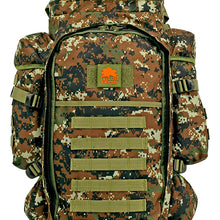 Lost Woods - Full Gear Rifle Backpack - Green Digital Camo