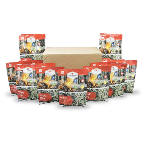 15 Individually Packed Wise Fire Pouches