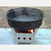QuickStove Cube Stove w/ Two Fire Starters