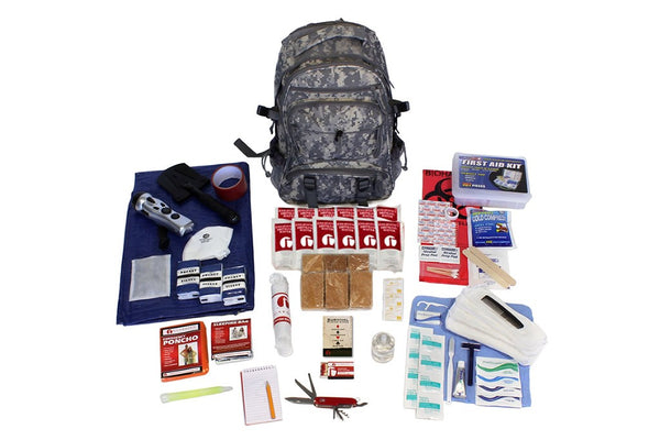 Deluxe Woodsman 72-Hour Individual Survival Kit