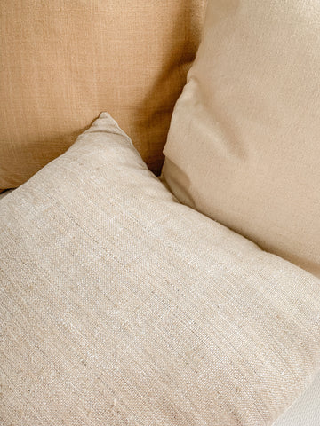 Basketweave Linen Cushion in Poolish
