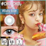 # Chou Chou Monthly #BabyBlue - 小さい兎USAGICONTACTカラコン通販 | 日本美瞳 | Japanese Color Contact Lenses Shop
