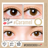 # Chou Chou 1 Day #Caramel - 小さい兎USAGICONTACTカラコン通販 | 日本美瞳 | Japanese Color Contact Lenses Shop