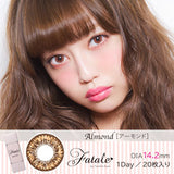 Fatale by Twinkle Eyes 1 Day Almond - 小さい兎USAGICONTACTカラコン通販 | 日本美瞳 | Japanese Color Contact Lenses Shop