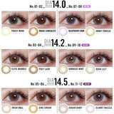 Color Majority 1 Day FoxyLady - 小さい兎USAGICONTACTカラコン通販 | 日本美瞳 | Japanese Color Contact Lenses Shop