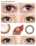 Luena 1 Day BasicBrown02 - 小さい兎USAGICONTACTカラコン通販 | 日本美瞳 | Japanese Color Contact Lenses Shop