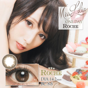 Misslilia 1 Day Roche - 小さい兎USAGICONTACTカラコン通販 | 日本美瞳 | Japanese Color Contact Lenses Shop
