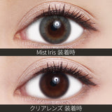 ReVIA Monthly Color Mist Iris - 小さい兎USAGICONTACTカラコン通販 | 日本美瞳 | Japanese Color Contact Lenses Shop