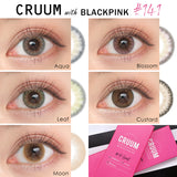 Cruum 1 Day Leaf - 小さい兎USAGICONTACTカラコン通販 | 日本美瞳 | Japanese Color Contact Lenses Shop