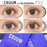 Cruum 1 Day Champagne - 小さい兎USAGICONTACTカラコン通販 | 日本美瞳 | Japanese Color Contact Lenses Shop