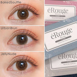 eRouge 2 Week UrbanBrun - 小さい兎USAGICONTACTカラコン通販 | 日本美瞳 | Japanese Color Contact Lenses Shop