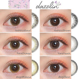 Dazzlin 1 Day NoblessHazel - 小さい兎USAGICONTACTカラコン通販 | 日本美瞳 | Japanese Color Contact Lenses Shop