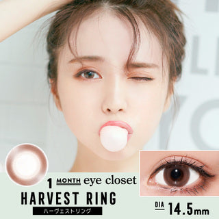 EyeCloset Monthly HarvestRing - 小さい兎USAGICONTACTカラコン通販 | 日本美瞳 | Japanese Color Contact Lenses Shop