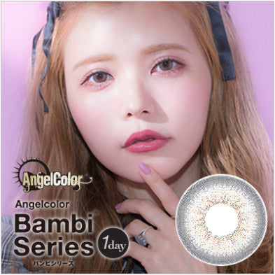 Bambi Series 1 Day PearlGray - 小さい兎USAGICONTACTカラコン通販 | 日本美瞳 | Japanese Color Contact Lenses Shop