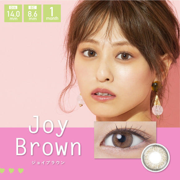 Love&Joy by Sweetheart Monthly JoyBrown - 小さい兎USAGICONTACTカラコン通販 | 日本美瞳 | Japanese Color Contact Lenses Shop