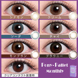 Pony Pallet Monthly Cream - 小さい兎USAGICONTACTカラコン通販 | 日本美瞳 | Japanese Color Contact Lenses Shop