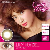 Candy Magic Monthly AQUA Series LilyHazel - 小さい兎USAGICONTACTカラコン通販 | 日本美瞳 | Japanese Color Contact Lenses Shop