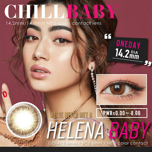 ChillBaby 1 Day HelenaBaby - 小さい兎USAGICONTACTカラコン通販 | 日本美瞳 | Japanese Color Contact Lenses Shop
