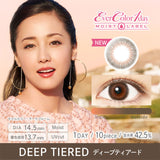 EverColor 1 Day Moist Label DeepTiered - 小さい兎USAGICONTACTカラコン通販 | 日本美瞳 | Japanese Color Contact Lenses Shop