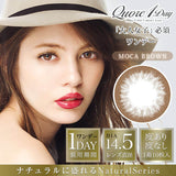 QuoRe 1 Day MocaBrown - 小さい兎USAGICONTACTカラコン通販 | 日本美瞳 | Japanese Color Contact Lenses Shop