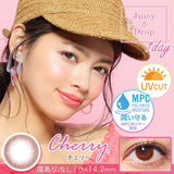 JuicyDrop 1 Day Cherry - 小さい兎USAGICONTACTカラコン通販 | 日本美瞳 | Japanese Color Contact Lenses Shop