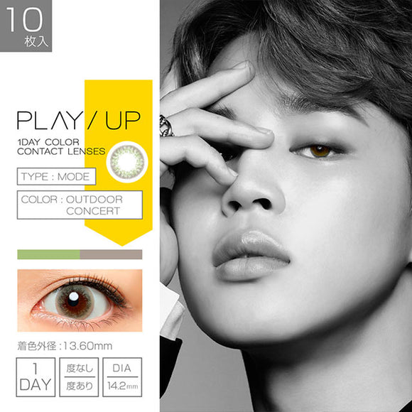 PlayUp 1 Day OutdoorConcert - 小さい兎USAGICONTACTカラコン通販 | 日本美瞳 | Japanese Color Contact Lenses Shop
