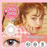 # Chou Chou 1 Day #MilkyPeach - 小さい兎USAGICONTACTカラコン通販 | 日本美瞳 | Japanese Color Contact Lenses Shop