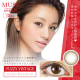 Muse 1 Day FuzzyVintage - 小さい兎USAGICONTACTカラコン通販 | 日本美瞳 | Japanese Color Contact Lenses Shop