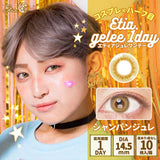 Etia.Gelee 1 Day ChampaignGelee - 小さい兎USAGICONTACTカラコン通販 | 日本美瞳 | Japanese Color Contact Lenses Shop