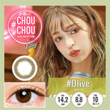 # Chou Chou 1 Day #Olive - 小さい兎USAGICONTACTカラコン通販 | 日本美瞳 | Japanese Color Contact Lenses Shop