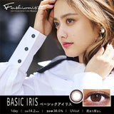 Fashionista 1 Day BaiscIris - 小さい兎USAGICONTACTカラコン通販 | 日本美瞳 | Japanese Color Contact Lenses Shop