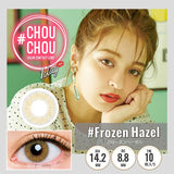 # Chou Chou 1 Day #FrozenHazel - 小さい兎USAGICONTACTカラコン通販 | 日本美瞳 | Japanese Color Contact Lenses Shop