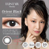 LUSTAR 1 Day OrientBlack - 小さい兎USAGICONTACTカラコン通販 | 日本美瞳 | Japanese Color Contact Lenses Shop