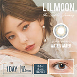 LILMOON 1 Day WaterWater - 小さい兎USAGICONTACTカラコン通販 | 日本美瞳 | Japanese Color Contact Lenses Shop