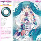 MagicalBlinc 1 Day 01TurquoiseBlue - 小さい兎USAGICONTACTカラコン通販 | 日本美瞳 | Japanese Color Contact Lenses Shop