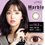 Marble By Luxury 1 Day Pletzel - 小さい兎USAGICONTACTカラコン通販 | 日本美瞳 | Japanese Color Contact Lenses Shop