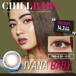 ChillBaby 1 Day IvanaBaby - 小さい兎USAGICONTACTカラコン通販 | 日本美瞳 | Japanese Color Contact Lenses Shop