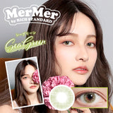 MerMer by RICH STANDARD SeaGreen - 小さい兎USAGICONTACTカラコン通販 | 日本美瞳 | Japanese Color Contact Lenses Shop