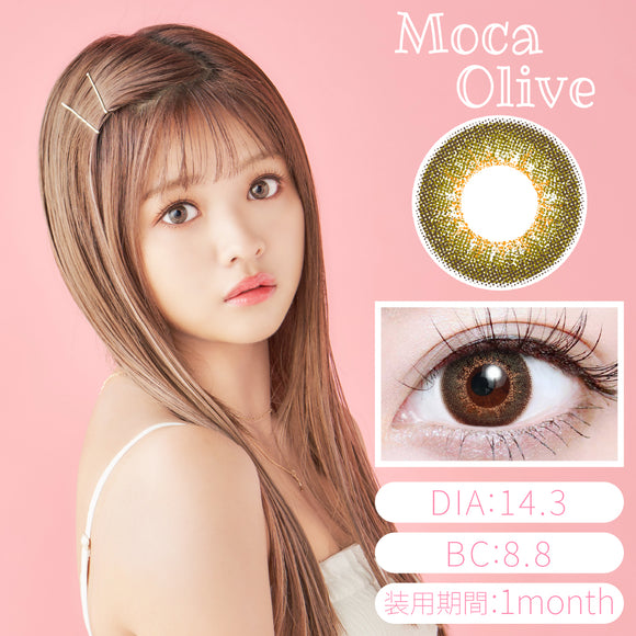 TeAmo Yummy Monthly MocaOlive - 小さい兎USAGICONTACTカラコン通販 | 日本美瞳 | Japanese Color Contact Lenses Shop