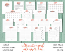 Ultimate Meal Planning Kit