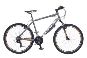 "22"" COYOTE CHOCTAW, 21 SPEED, 26"" WHEEL GENTS, GREY MTB"