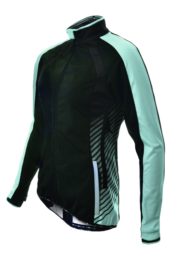 Ladies Softshell Windstopper Cycle Jacket - Funkier Tacona